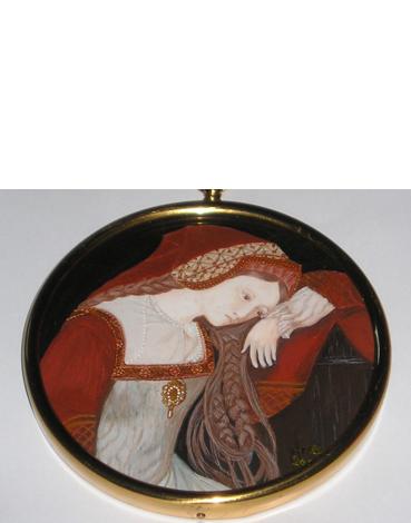 XVI Century Lady – Sold