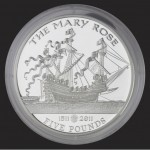 Mary Rose  £5 coin commission